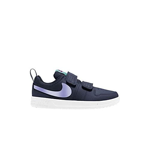Nike Pico 5 (PSV), Tennis Shoe, Thunder Blue/Purple Pulse-Light Dew-Fireberry, 28 EU