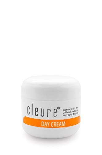 Cleure Hypoallergenic Day Cream for Sensitive Skin | Fragrance - Gluten - Salicylate - Paraben Free | 100% Pure Shea Butter - Vitamin C - Vitamin E | 2 Oz