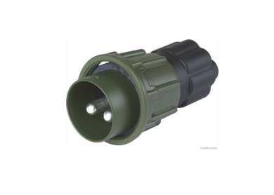 Stecker Metall m.Schraubring oliv grün 2polig 35qmm VG96917E001 5935-12-322-9791 51305920 251097