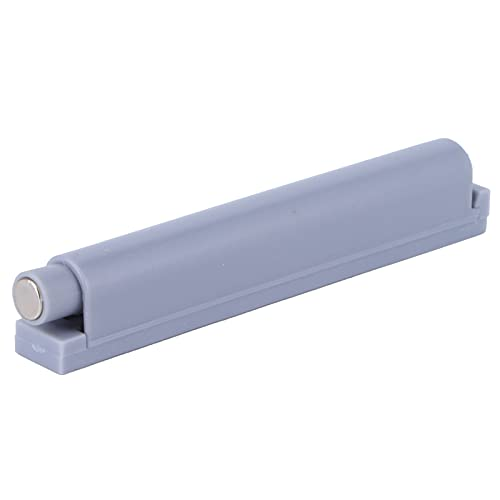 Skåpdörrspjäll, ABS-skåp Tryck för att öppna spärren, Tryck för att öppna system Spjällbuffert Skåpspärrar Öppet dörrspjäll Lämpligt för hushållsmöbler, skåp, lådor(Grå L)