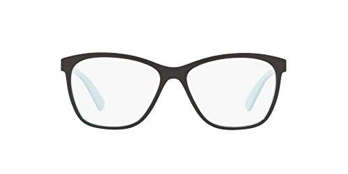 OX8155 Alias Round Eyeglass Frames, Blue Milkshake/Demo Lens, 53 mm
