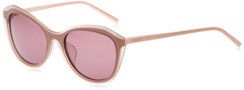DKNY Womens DK508S Sunglasses, NUDE/BLUSH, 54mm, 18mm, 135mm