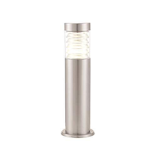 Endon 72914 Equinox LED palen buitenlamp van marine grade roestvrij staal geborsteld - hoogte: 500 mm