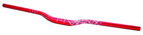 WAG Manubrio MTB Oversize Alluminio 780 mm 10 Gradi Rosso (Manubri MTB) / Handlebar MTB Oversize Aluminium 780 mm 10 Degrees Red (Handlebars MTB)