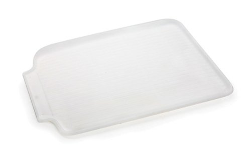 Danesco Dish Drain Board 22' x 16', Plastic - Frosted White