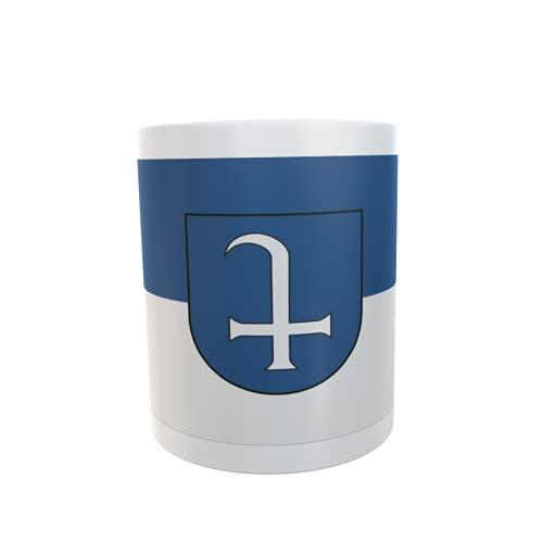 U24 Tasse Kaffeebecher Mug Cup Flagge Dudenhofen