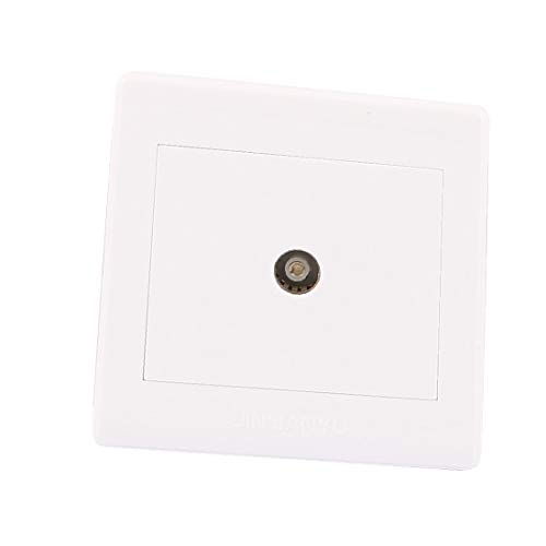 X-Dr PAL TV Antenne Einzelanschlussbuchse Wandmontageplatte für koaxiale Wandmontage (7ffdb27201928ed21e42a07505d5cabc)