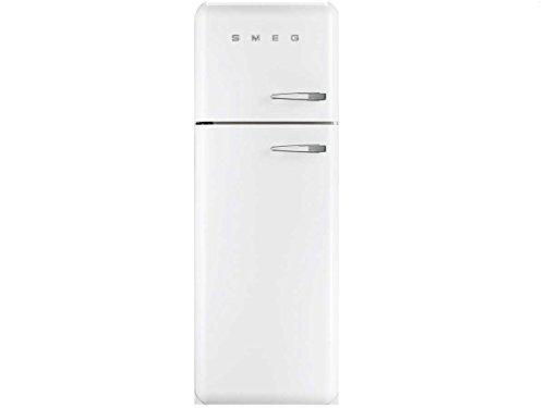 Smeg FAB30LB1 Stand Kühl-Gefrier-Kombination Weiß 50er Jahre Kühlschrank A++