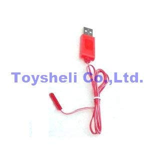 Part & Accessories Attop YD-719 spare parts yd 719 usb wire YD 719 RC Helicopter Parts