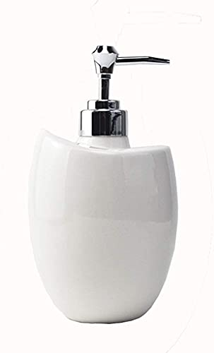 Dispensador Gel Hidroalcoholico, Botella de bomba del dispensador de jabón Estilo nórdico Botella de jabón de mano Capacidad grande Champú y ducha Botella de gel adecuada for la cocina y el dispensado