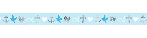Ursus 59080022 - Masking Tape Religion, ca. 15 mm x 10 m, blau