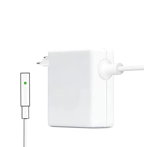 Adaptador de Corriente de Seguridad magnético L-Tip de 60 W, Compatible con el Cargador Mac Book Air, Adecuado para Mac Book Pro de 13 Pulgadas (Modelos anteriores a Mediados de 2012)