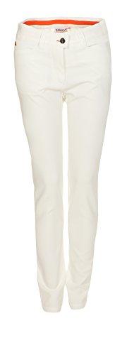 MAXX-Fashion MAXX Golf Hose Mädchen mit verstellbaren Bund (Weiss, 164)