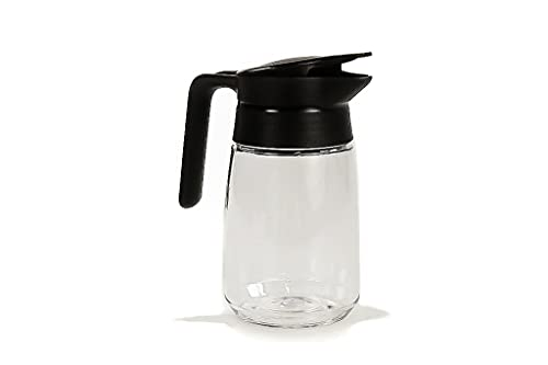 TUPPERWARE Cream Milk Dispenser Bowl Jug black 350 ml