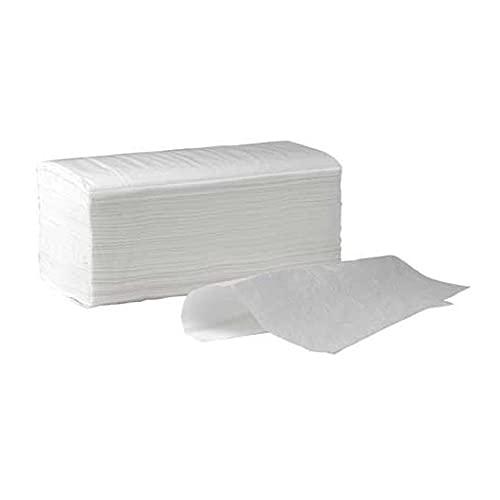 chiner ® - Toalla Secamanos Zig Zag Papel Laminadas CHINER®, Caja de 3000 unidades