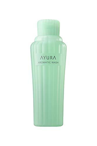 アユーラ (AYURA) アロマティックウォッシュα 300mL < ボディ用洗浄料 > たっぷりの泡と爽やかな香りに 心地よく包まれる ボディウォッシュ