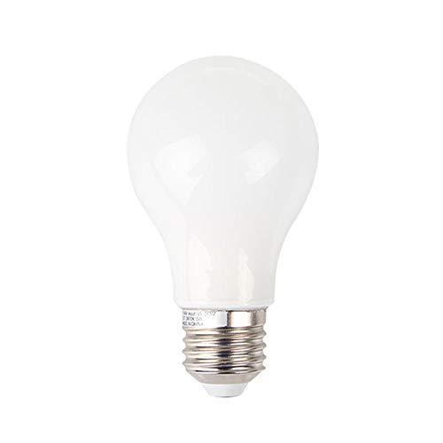Bubbry 2X E27 5W LED gloeilampen kogel kaars gloeilamp warm wit/daglicht