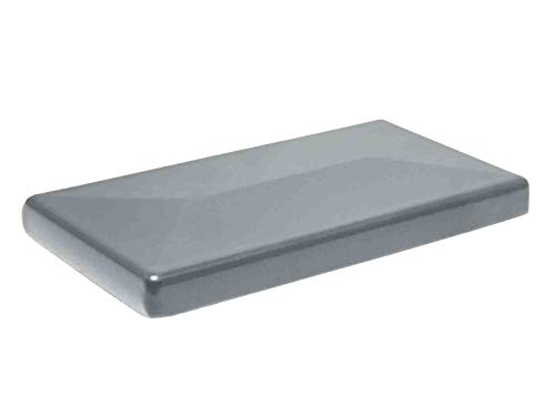 Aluminium Pfostenkappe für 60 x 40mm Standard Zaunpfosten in RAL 7016 Anthrazit