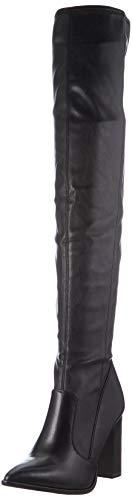 Tamaris Damen 1-1-25503-25 Kniehohe Stiefel, schwarz, 40 EU
