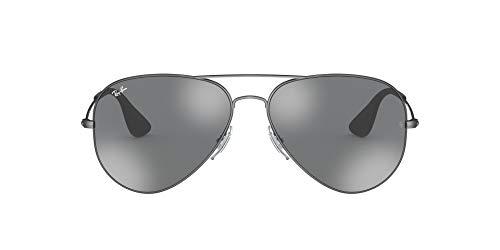 Ray-Ban 91396G Gafas de Sol, Matte Black Antique, 57 Unisex