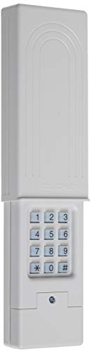 Chamberlain Group Clicker Universal Keyless Entry KLIK2U-P2, Works with Chamberlain, LiftMaster, Craftsman, Genie and More, Security +2.0 Compatible Garage Door Opener Keypad, White
