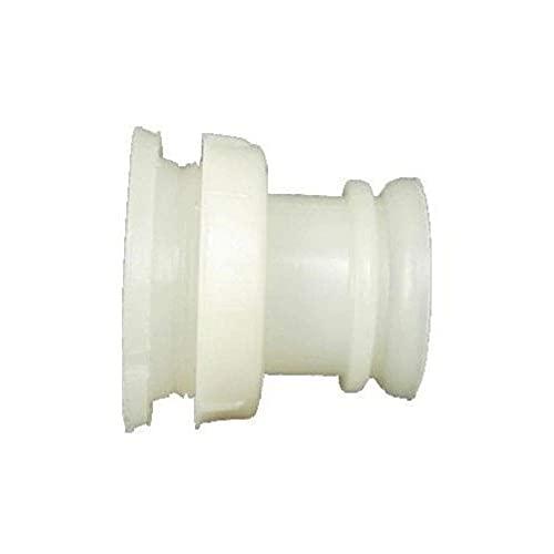 INSPROVET Válvula de plástico para Cubo Tetón para Terneros 7 litros, 1 Salida