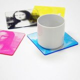 WAKU CMYK Color Printed Coasters