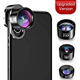 iPhone Camera Lens, JOPREE【Upgrade】 4 in 1 iPhone Lens Kit,...