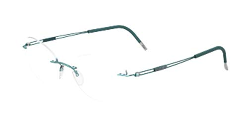 Eyeglasses Silhouette TNG 2018 (5521) 5040 Real Teal 52/17/140 3 piece frame c