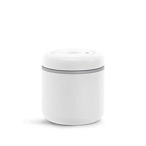 Fellow Atmos Vakuumbehälter für Kaffee und Lebensmittel, matt weiß, Medium