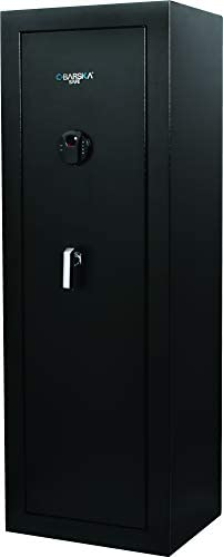BARSKA AX13378 Large Keypad Biometric 16 Position Rifle Safe 9 33 Cubic Ft product image