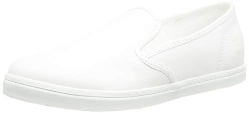 Timberland Dausette Slip-On, Sneakers Basse Donna, Blanco White, 39 EU