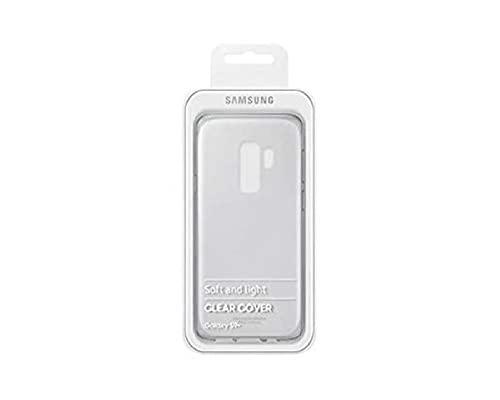 Samsung Clear Cover - Funda para Galaxy S9+, transparente