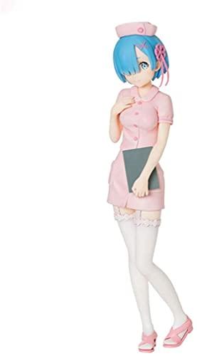 Sega Re Zero Starting Life in Another World: Rem Premium Figure (Pink Nurse Version)