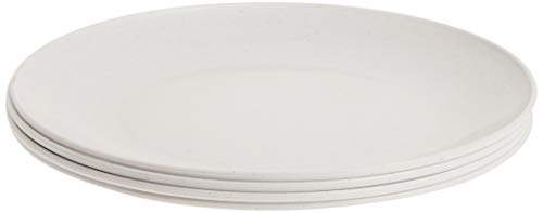 Nordic Ware Everyday Plates (Set of 4), 10', White
