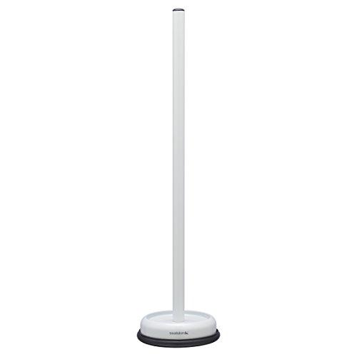 Sealskin Reserverollenhalter Acero, Toilettenpapierhalter für bis zu 4 Rollen, Edelstahl, Farbe: Weiß