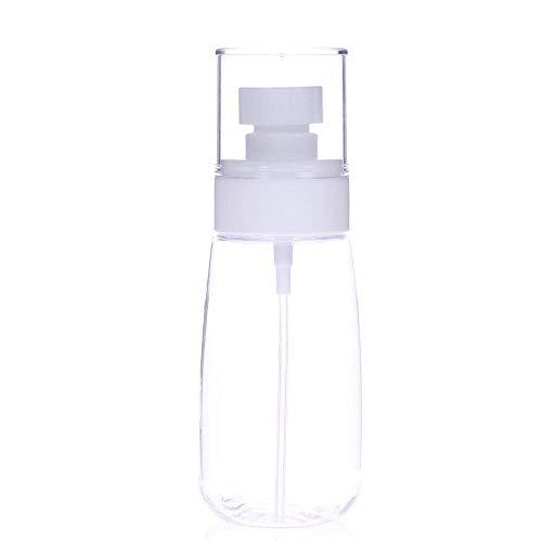 Arrosoirs 200ml maquillage portable flacon pulvérisateur plastique transparent hydratant atomiseur pot amende outils de coiffure bouteille brumisateur Pulvérisateur à pression (Color : B)