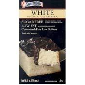 Sweet 'N Low White Cake Mix