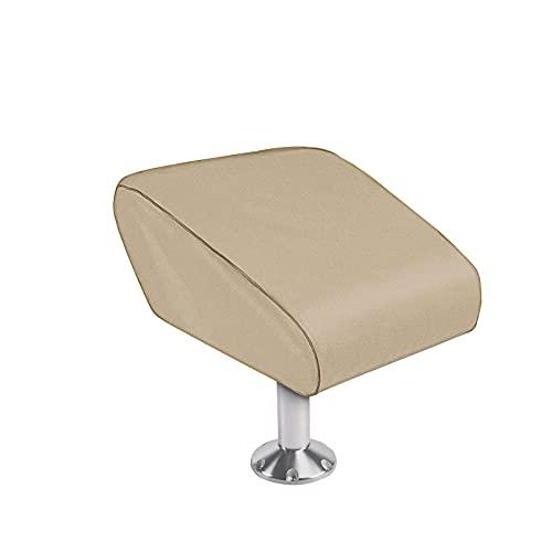 Nicoone Cubierta de asiento plegable para barco de pesca 600D impermeable cubierta de asiento plegable cubierta de silla de pesca