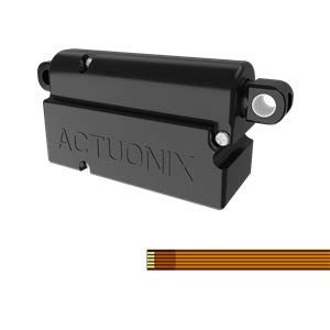 PQ12-S Micro Linear Actuator - 6V - 20mm Stroke - Hardware Kit Included