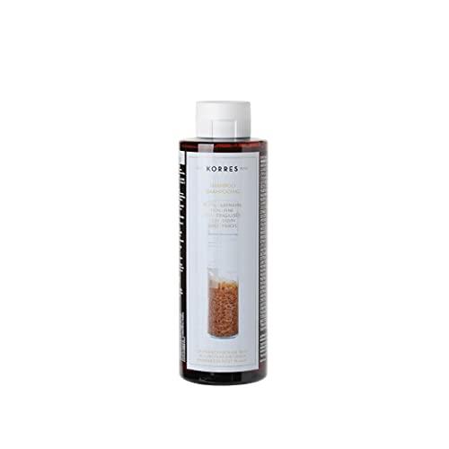 KORRES Rice Proteins Linden Champú, Multicolor, Fresh, 250 Mililitros