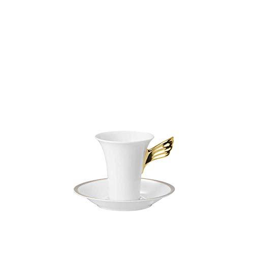 Versace by Rosenthal - Ikarus Med. Meandre d`Or - Espressotasse - Mokkatasse - 2-teilig - Gold - Porzellan - 90ml