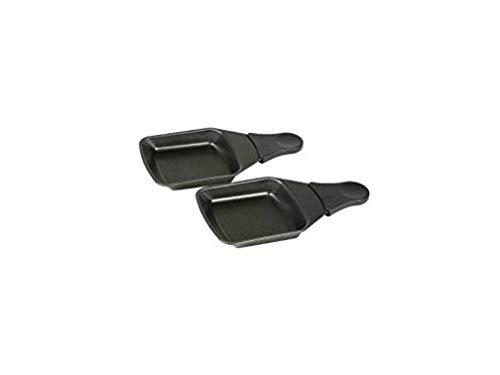 Tefal XA400202 Raclette-Pfännchen mit Antihaftschicht, 2 Stück