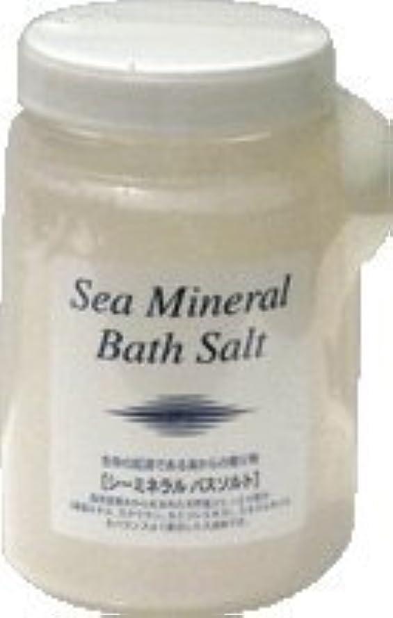 柔らかいわかりやすい形シーミネラルバスソルト(入浴剤) 1350g×6個セット