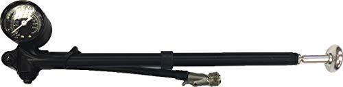 Matrix Dämpferpumpe Alu schwarz 40 bar / 600 PSI SB-Verpackung schwarz,40 bar / 600 PSI,SB-Verpackung