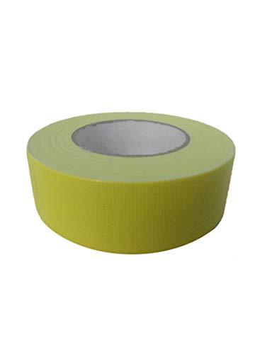 Steinband gelb 44 mm x 50 m Putzband Klebeband Fixierband Abklebeband Gelb Gewebeband