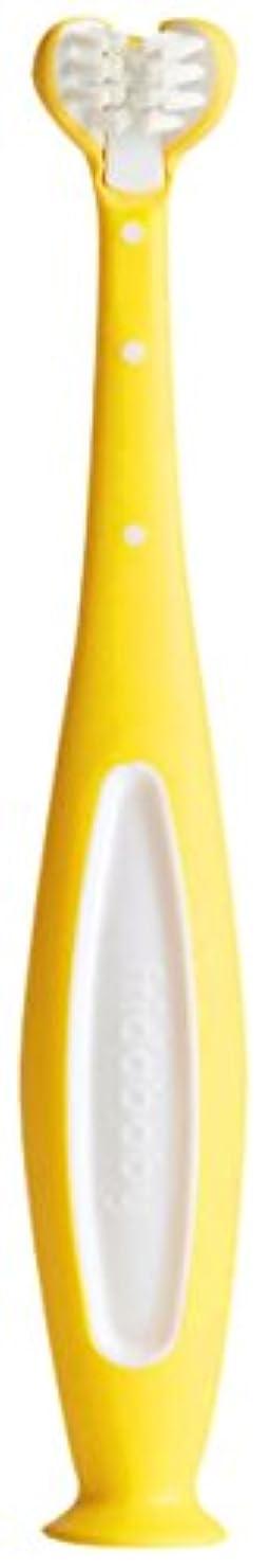 連結する宴会悪性FridaBaby smilefrida The toothhugger、3面幼児用Tooth Hugging Cleanすべての側面のように設計歯ブラシ歯at once