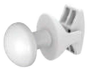 anapont Handtuchhalter-Handtuchknopf-Handtuchhaken für Heizkörper Terma, wählbar, 2er Set-Handy (weiß)