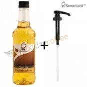 Sweetbird Englisch Toffee Sirup + Pumpe
