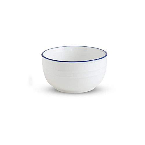 Junyyang Noodle Bowl Tazón de cerámica avena tazón Plato de Arroz de fondo plano del plato tazón de té Cuenco Cuenco salsa Tazón pudín Postre Tazón Tazón Soup Bowl Ensaladera Bol Vajilla Microondas Hi